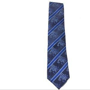 New Men's Neck Tie One Size Blue